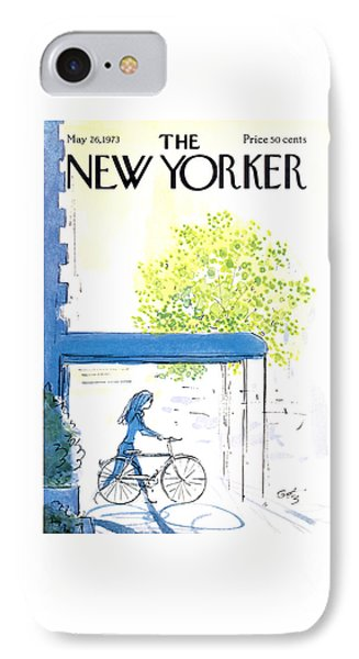 The New Yorker Cover - May 26th, 1973 IPhone Case