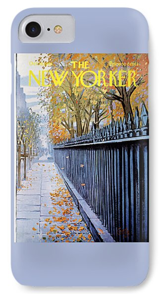 The New Yorker Cover - October 19th, 1968 IPhone Case