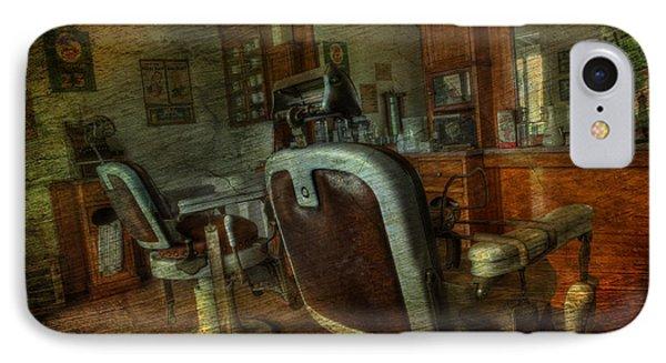 The Old Barbershop - Vintage - Nostalgia IPhone Case