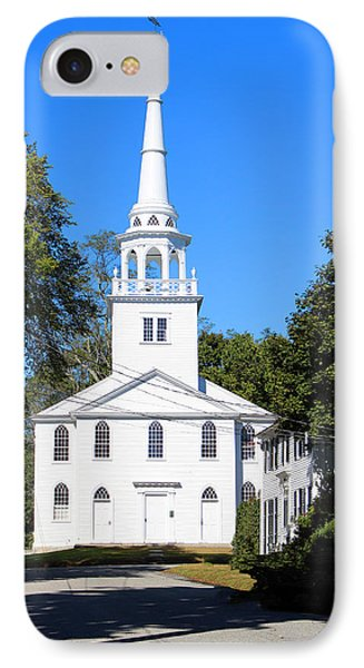 The Old Meeting House Yarmouth Me IPhone Case