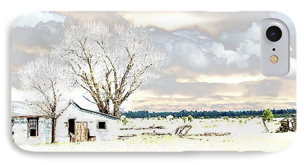 The Old Winter Homestead IPhone Case