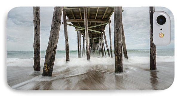 The Outer Banks North Carolina Fishing Pier IPhone Case