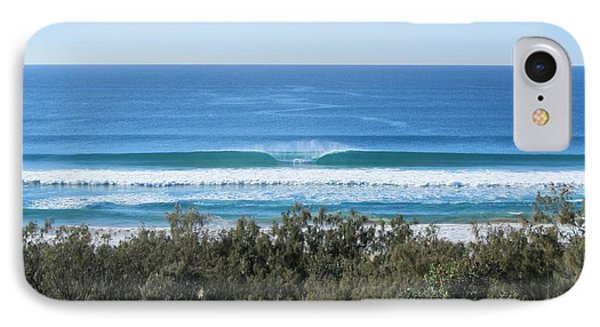 The Perfect Wave Sunrise Beach Queensland Australia IPhone Case