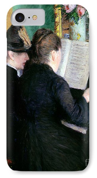 The Piano Lesson IPhone Case