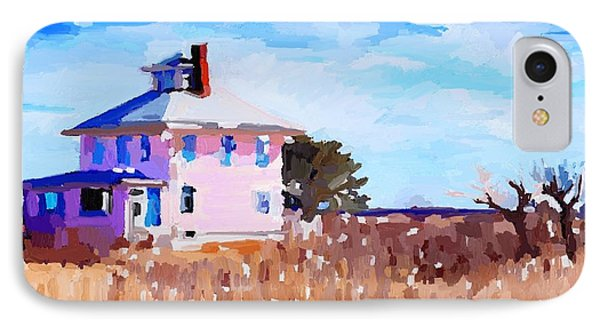 The Pink House, Newburyport, Ma. IPhone Case