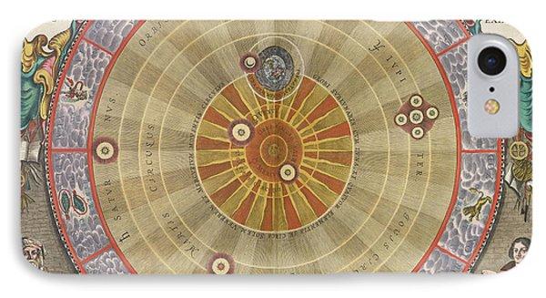 The Planisphere Of Copernicus Harmonia IPhone Case