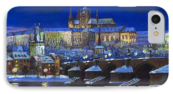 Castle iPhone 8 Case - The Prague Panorama by Yuriy Shevchuk