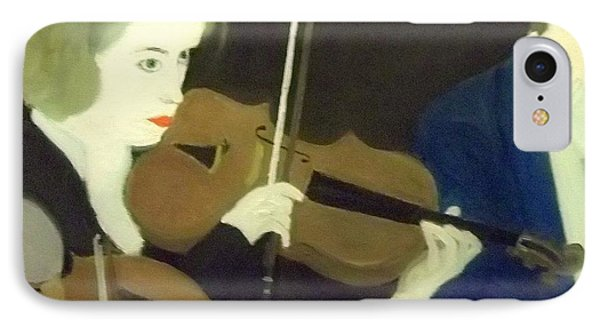 The Prettiest Violinist In The Orchestra IPhone Case