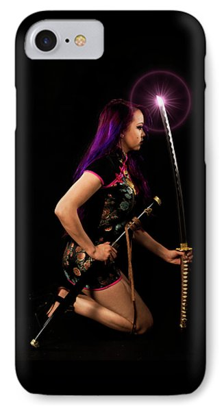 The Purple Glow IPhone Case