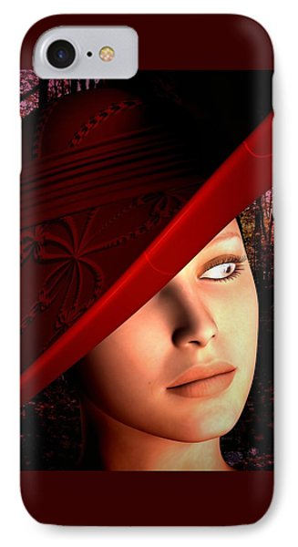 The Red Hat IPhone Case