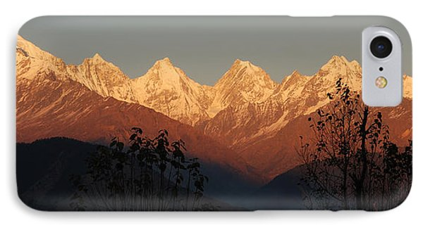 The Rendezvous. A Panorama. IPhone Case