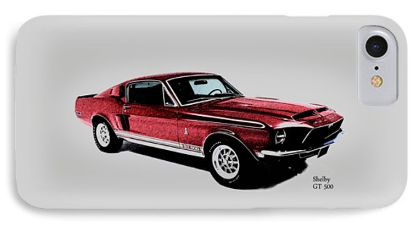 The Shelby Gt500 IPhone Case