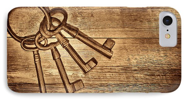 The Sheriff Jail Keys IPhone Case