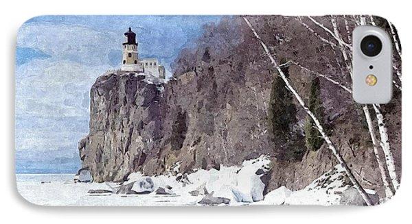 The Shoreline Lighthouse IPhone Case