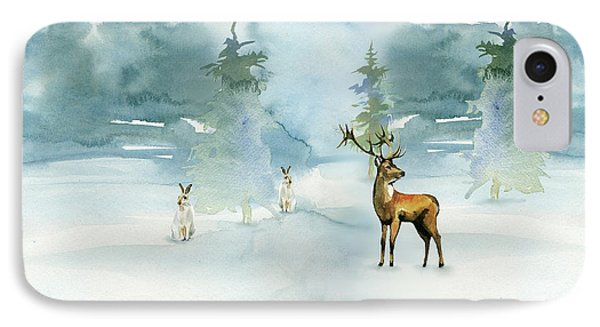 The Soft Arrival Of Winter IPhone Case