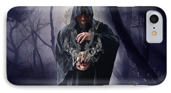 Wizard iPhone 8 Case - The Sounds Of Silence by Smart Aviation