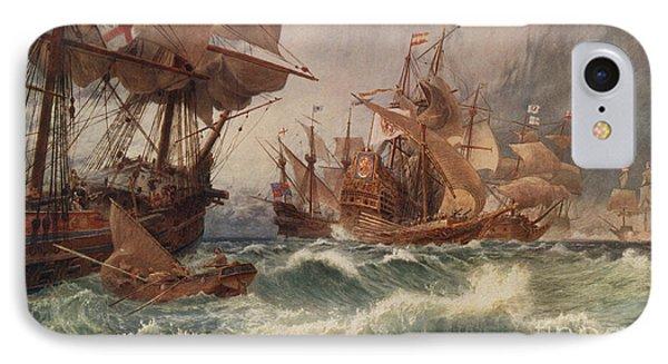 The Spanish Armada IPhone Case
