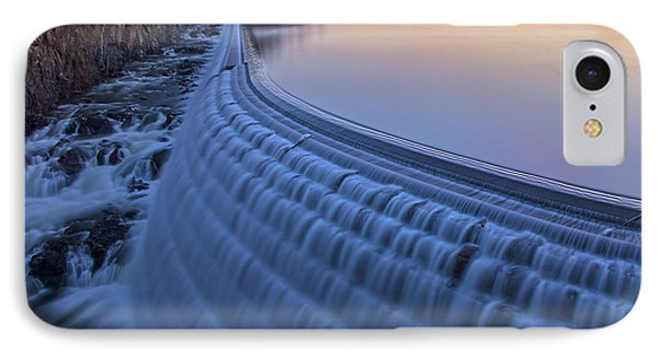 The Spillway At Dawn IPhone Case