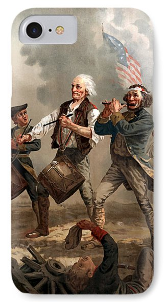 American iPhone 8 Case - The Spirit Of '76 by War Is Hell Store