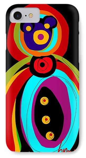 Mr. Teddy Bearitus IPhone Case