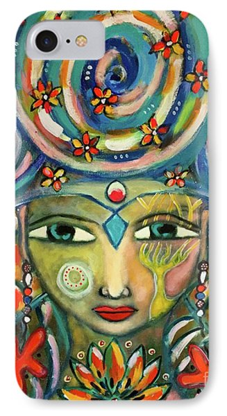 The Sun Goddess  IPhone Case