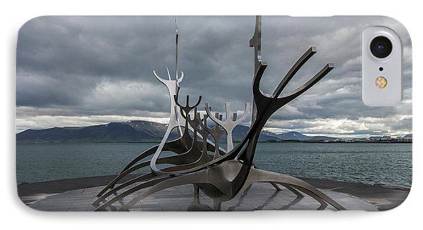 The Sun Voyager, Reykjavik, Iceland IPhone Case