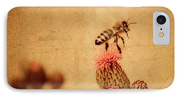 The Thistle And The Bee IPhone Case
