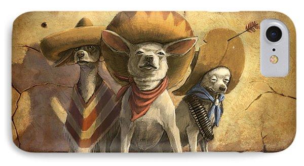The Three Banditos IPhone Case