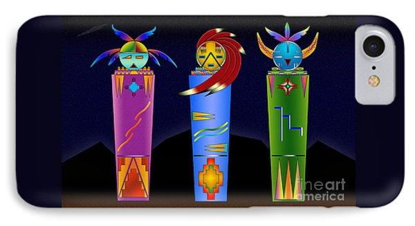 The Three Spirits IPhone Case