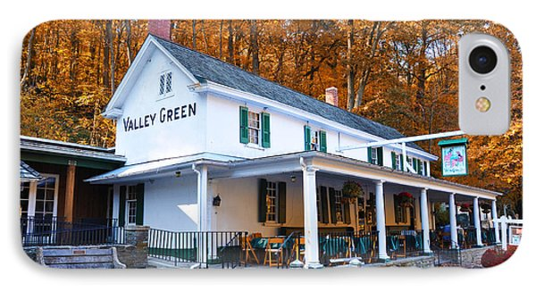 The Valley Green Inn In Autumn IPhone Case