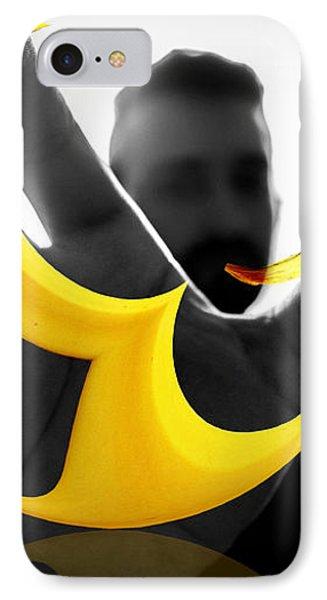 The Virtual Reality Banana IPhone Case
