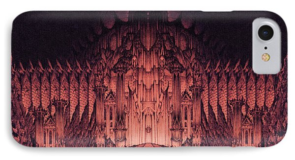 The Walls Of Barad Dur IPhone Case