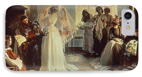 The Wedding Morning IPhone Case