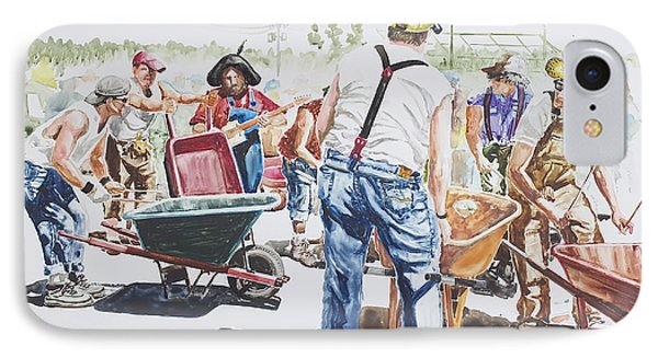The Wheelsbarrow Band IPhone Case