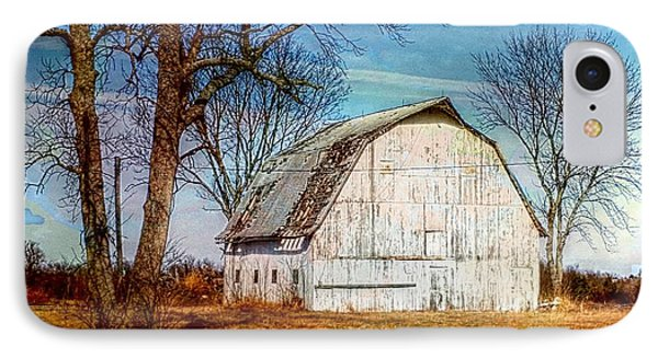 The White Barn IPhone Case