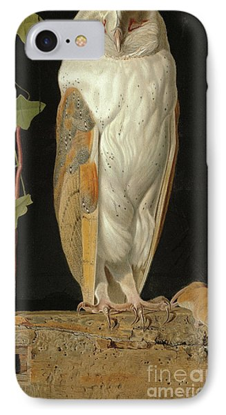 The White Owl IPhone Case