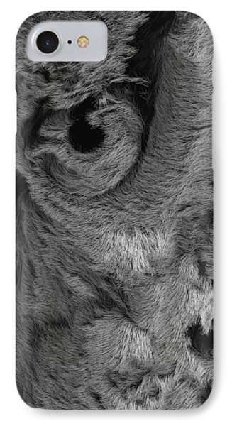 The Old Owl That Watches Blk IPhone Case