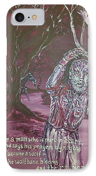 The Wolf Man, 1941 IPhone Case