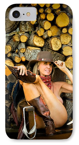 The Wood Pile IPhone Case