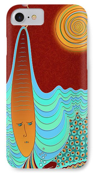 The Young Man And The Sea IPhone Case