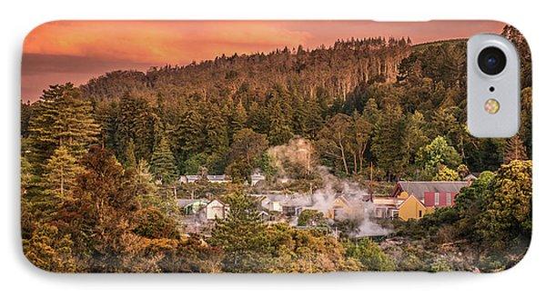 Thermal Village Rotorua IPhone Case