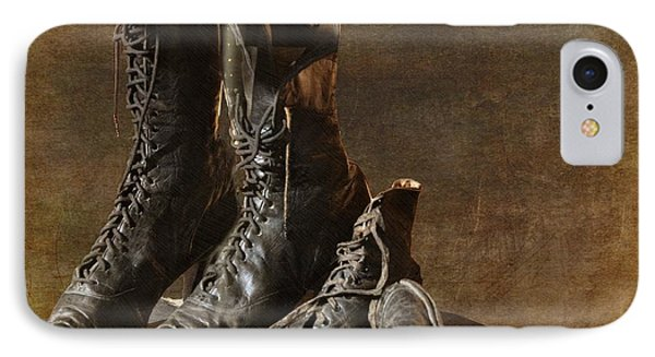 These Boots Are Made For Walking IPhone Case
