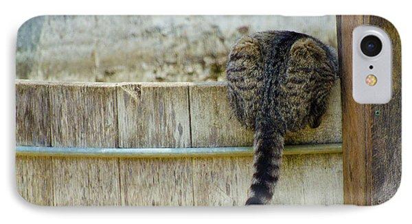 Thirsty Barn Cat IPhone Case