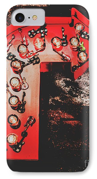 Rock And Roll iPhone 8 Case - This Way To Rock City by Jorgo Photography - Wall Art Gallery