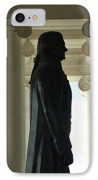 Thomas Jefferson Statue IPhone Case