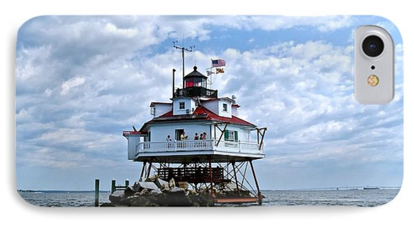 Thomas Point Lighthouse IPhone Case