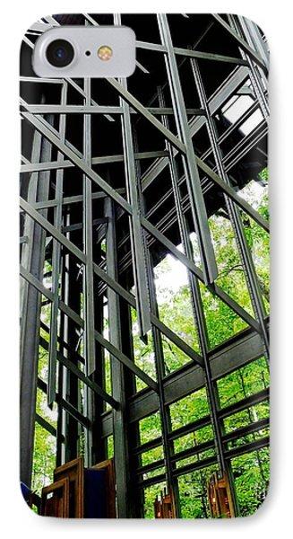 Thorncrown Chapel Arkansas Sanctuary Architecture IPhone Case