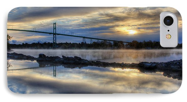Thousand Islands Bridge IPhone Case
