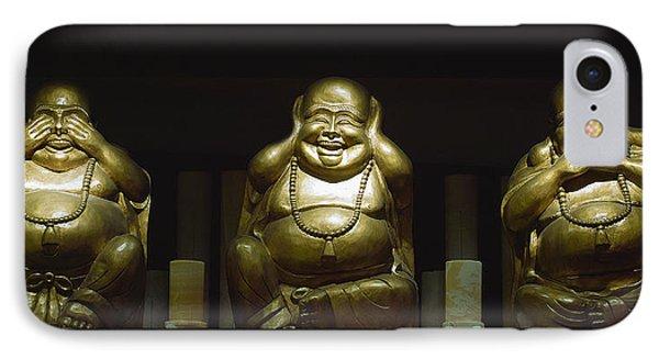 Three Buddhas IPhone Case