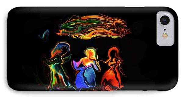 Three Ladies IPhone Case